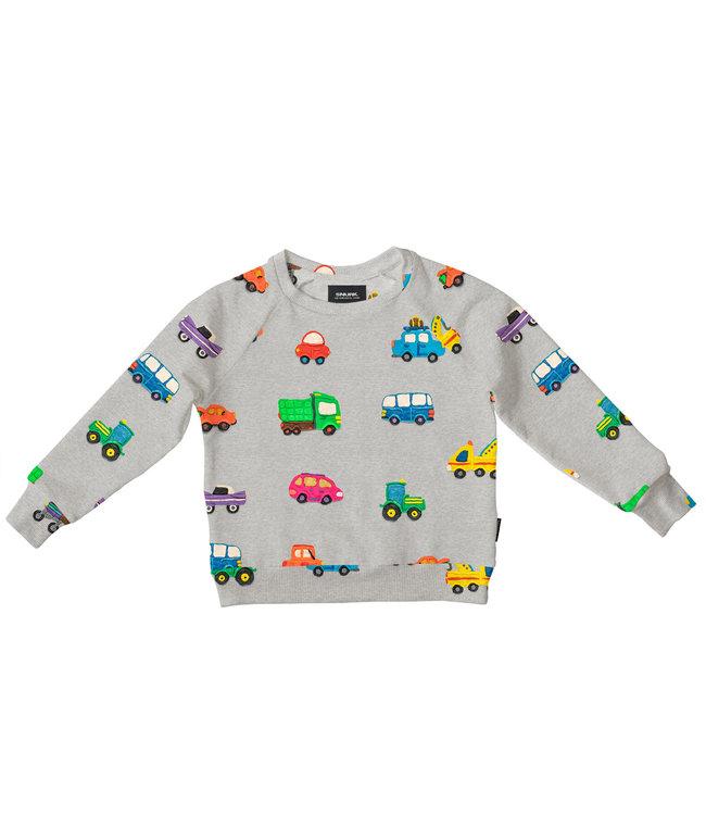 Snurk Clay Cars Sweater Kids