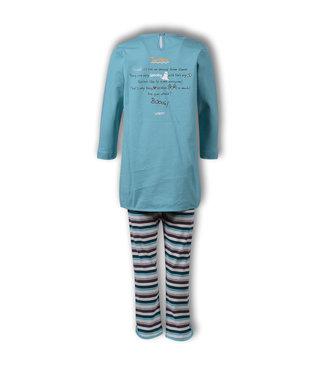 Woody 192-1-TUL-S/727 Meisjes-Dames pyjama
