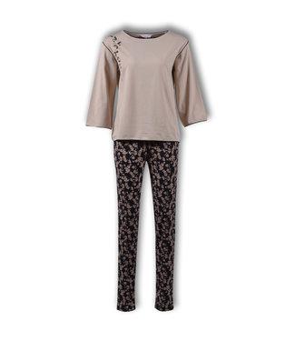 Lords & Lilies Dames Pyjama Oxford Tan LPA-Z/205