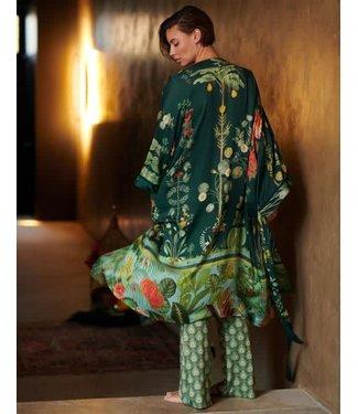 Pip Studio Noelle Babylons Garden Kimono Green