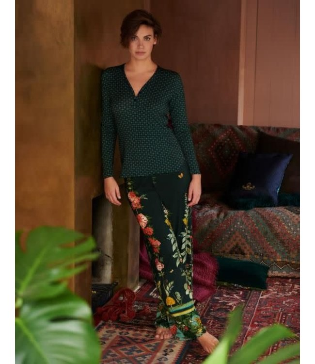 Pip Studio Barry Babylons Garden Trousers Green