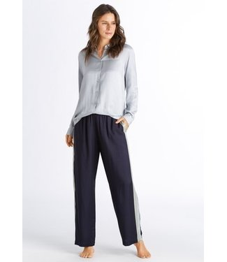Hanro Nori Loungewear Set Celadon / Major Blue