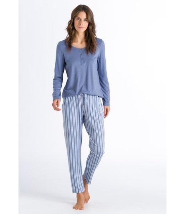 Hanro Set Sleep & Lounge Soft Blue
