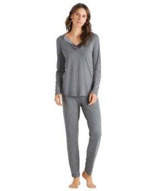 Hanro Fenja Pyjama Stone Melange