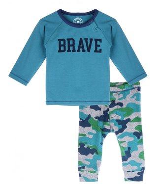 Claesen's Babyboys Pyjama Set Blue+Army