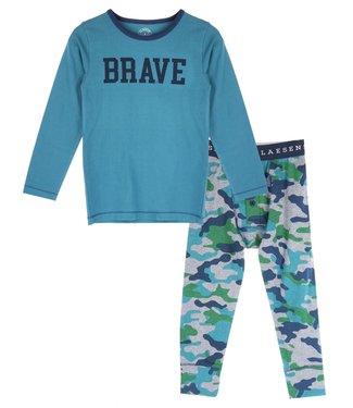 Claesen's Boys Pyjama Set Blue+Army