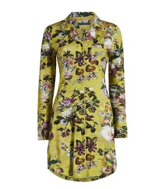 Essenza Laka Fleur Nightdress Long Sleeve Golden Yellow