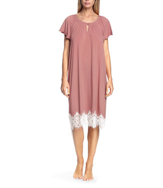 Coemi Antonia Nightdress Blush/Cream C503