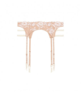 Antonia St.James Suspender Frappé White