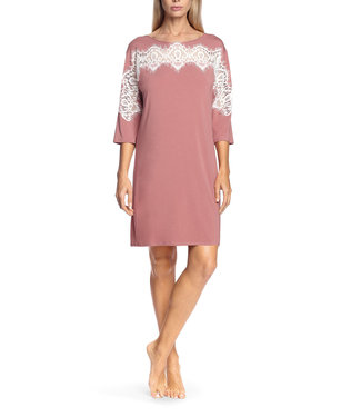 Coemi Antonia Nightdress Blush/Cream C501