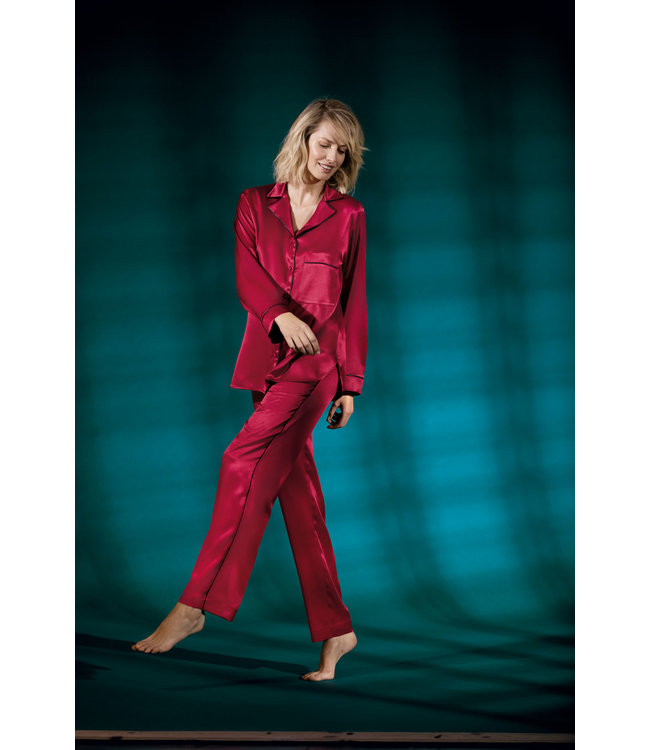 Coemi Malene Pyjama Set Festive Red SP006