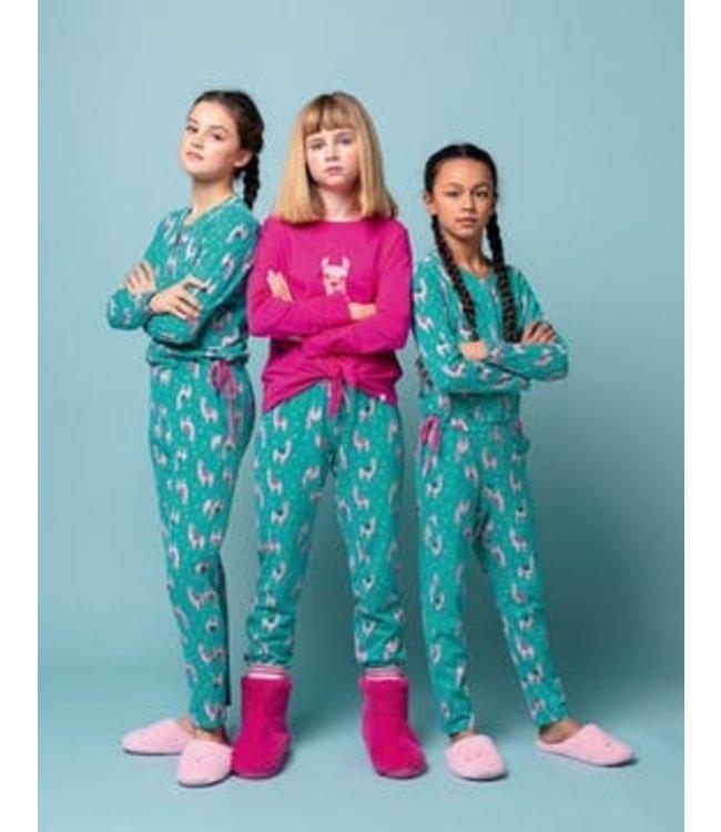 Woody 192-1-YPB-Z/499 Meisjes-Dames pyjama
