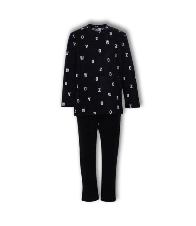 Woody 192-1-QVL-V/951 Jongens-Heren pyjama