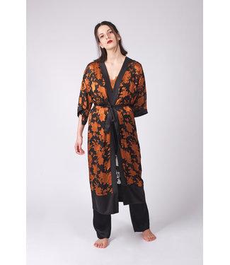 Hays Vegan Uzun Kimono Bakir