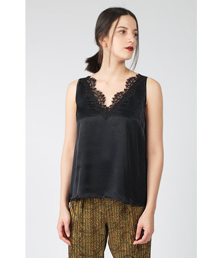 Hays Vegan Top Siyah Black