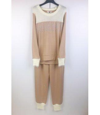Twin-Set Pyjama Cosy Evening Warm Beige