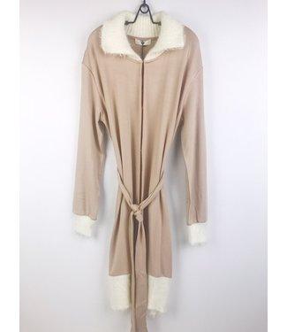 Twin-Set Cosy Coat Warm Beige