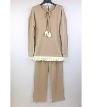 Twin-Set Pyjama Cosy Times Warm Beige