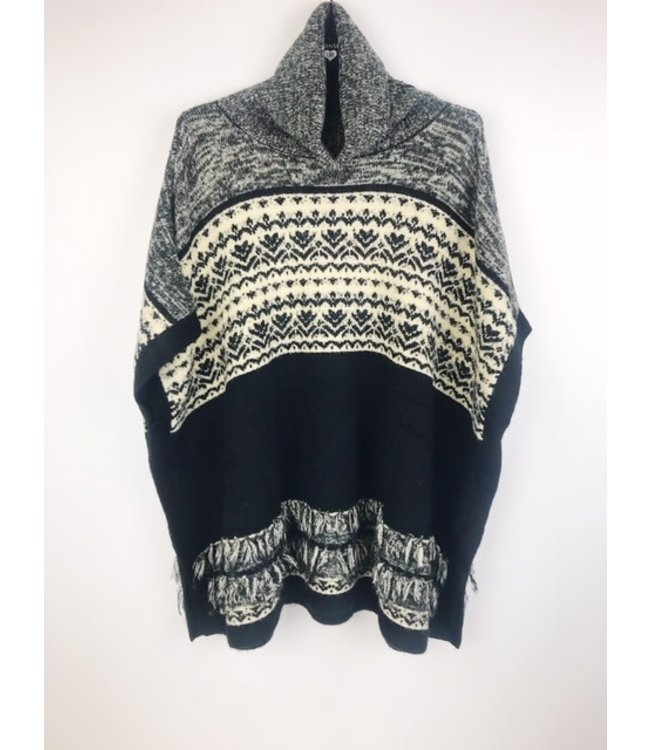 Twin-Set Poncho Winter Time