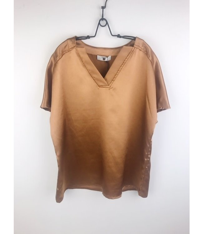 Twin-Set Camel Skin Top