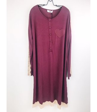 Twin-Set Purple Red Button NIghtdress