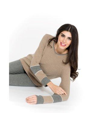 Annette Homewear Set Noce/Grigio Mel 2492