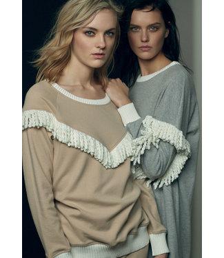 Twin-Set Cosy Fringe Pyjama - Homewear Set