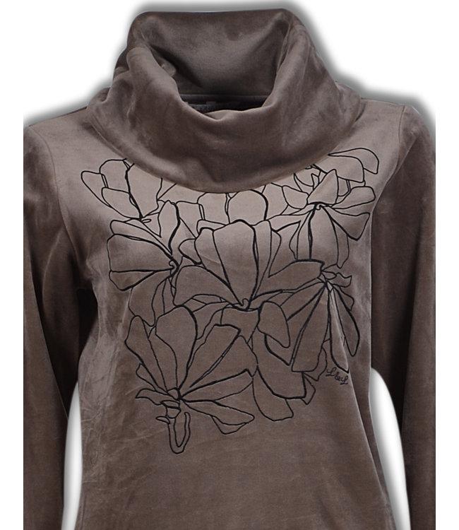 Lords & Lilies Dames Sweather & Broek Fungi Brown LHQ-V/227