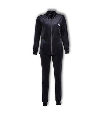 Lords & Lilies Dames Jas & Broek Obsidian Velours LHD-V/194