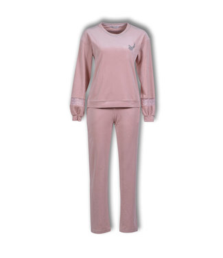 Lords & Lilies Dames Pyjama Pale Mauve LHA-V/360