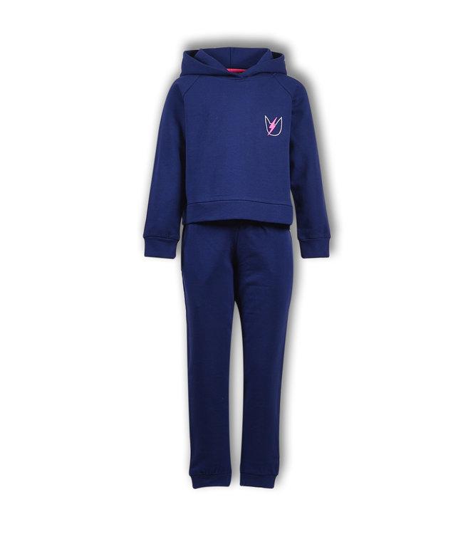 Woody Meisjes-Dames sweater en broek
