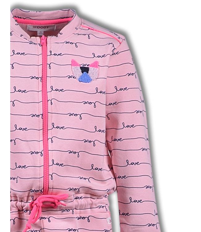 Woody 192-1-YOD-K/938 Meisjes-Dames onesie