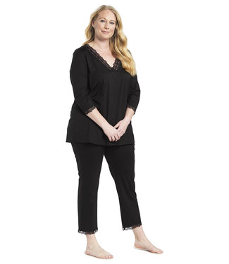 Rösch Curve Pyjama A Little Me Time Jet Black