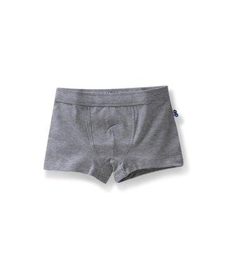 Woody Jongens boxershort Basic Marl Grey