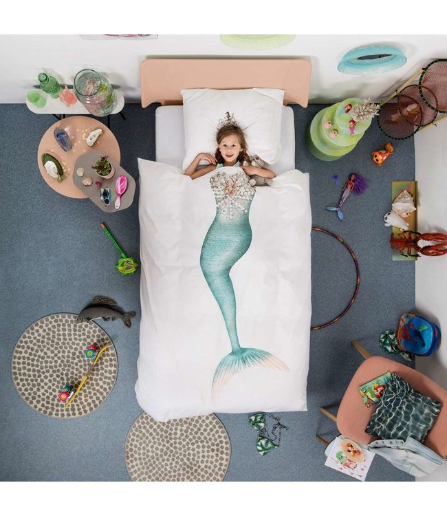 Snurk Mermaid Donsovertrek