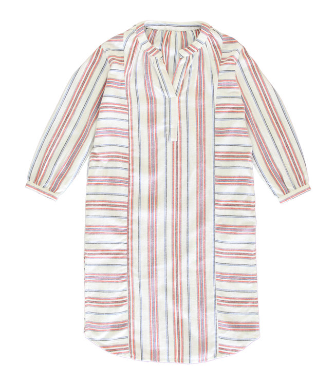 Dorélit Albali Flanel Dress Stripe Multi