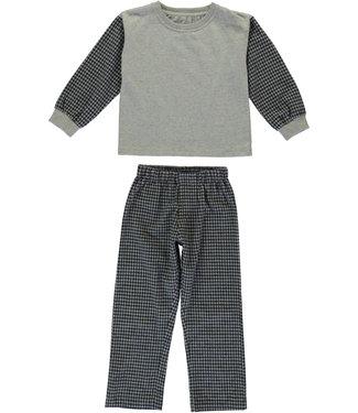 Dorélit Bo+Venus Kidspyjama  Check Navy
