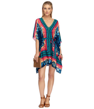 Jets Swimwear Kaftan Navy J60608