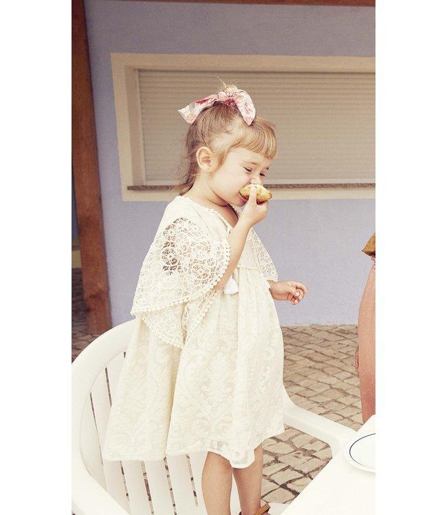 Louise Misha Dress Teresa Cream Baroque Lace