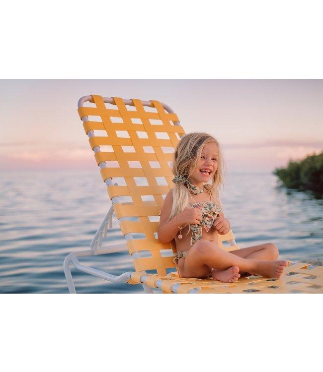Louise Misha Bikini Zacata Lemon Flowers