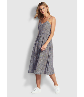 Seafolly Spirit Animal Button Dress Reflex Blu