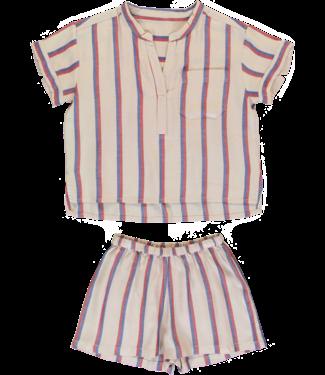 Dorélit Girls Set Carpo Shirt & Castor Woven Viscose