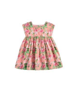Louise Misha Dress Tapalpa Sienna Flamingo