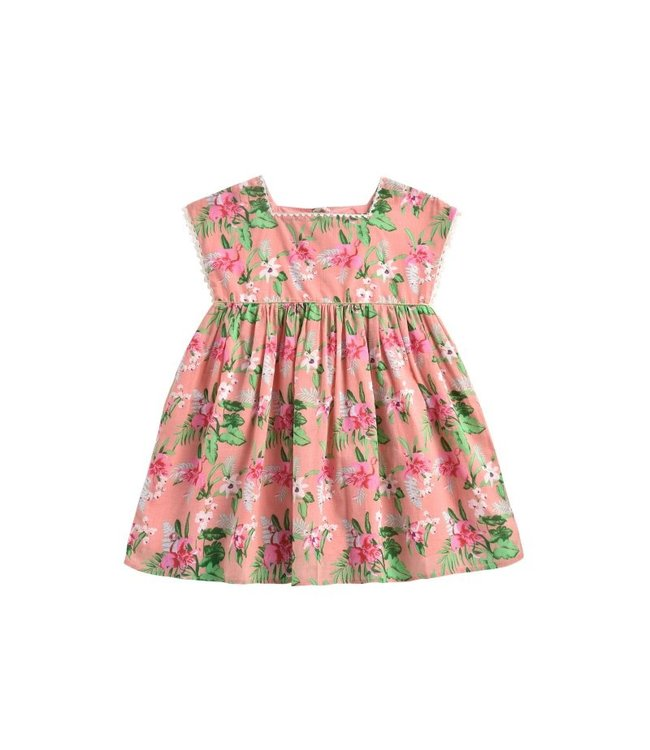 Louise Misha Dress Tapalpa Sienna Flamingo