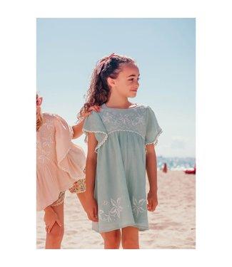 Louise Misha Dress Esca Almond