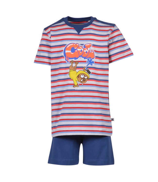Woody 201-1-PUS-S/914 Jongens-Heren pyjama