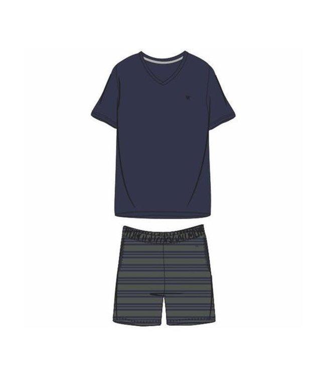 Woody 201-1-MVS-S/885 Heren pyjama