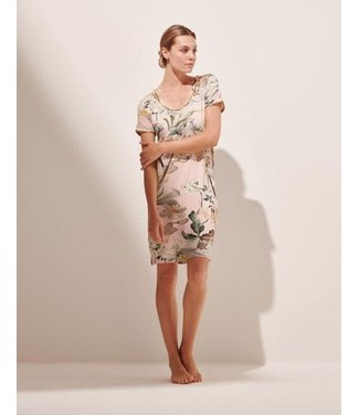 Essenza Emmylou Rosalee Nightdress Short Sleeve Rose