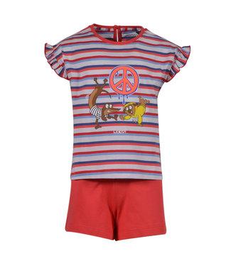 Woody 201-1-PSG-S/914 Meisjes-Dames pyjama