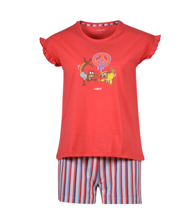 Woody 201-1-PSG-S/426 Meisjes-Dames pyjama